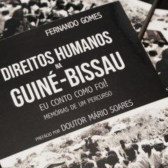 """Lançamento do livro """"Direitos Humanos na Guiné-Bissau"""" de Fernando Gomes"""