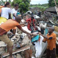 Município de Maputo apoia famílias vítimas do desabamento de lixeira