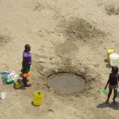 Zonas rurais de Nampula com acesso a água potável