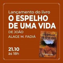 """UCCLA vai receber lançamento do livro """"O Espelho de uma Vida"""""""