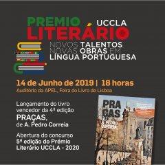 Lançamento da obra vencedora do Prémio Literário UCCLA