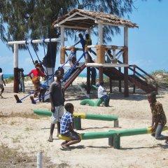 Parque infantil na Ilha de Moçambique