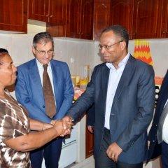 Secretário-Geral da UCCLA presente na inauguração das ligações domiciliárias de água na cidade da Praia