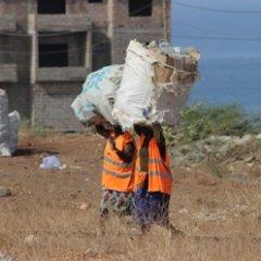Programa de limpeza deixa cidade da Praia mais limpa