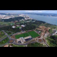 Inauguração da Cidade do Futebol