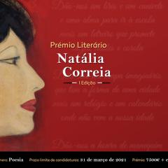 Candidaturas abertas ao Prémio Literário Natália Correia