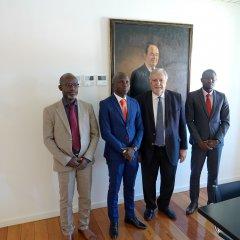 Reunião com Presidente da Câmara de Bissau