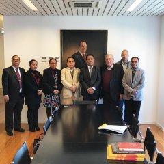 Reunião com Vice-Ministro da Administração Estatal de Timor-Leste