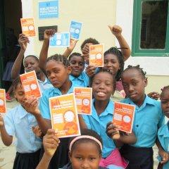 Roda de leitura na Biblioteca Pública Distrital da Ilha de Moçambique