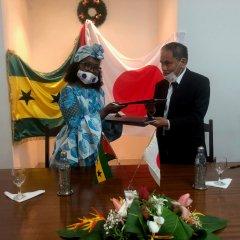 Japão e São Tomé e Príncipe assinam acordo para ajuda alimentar