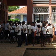 Construção de uma escola profissional em Água Grande