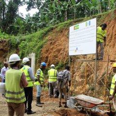 Lançamento de obras de abastecimento de água na Ilha do Príncipe