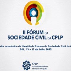 II Fórum da Sociedade Civil da CPLP