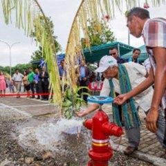Inauguração do sistema de abastecimento de água potável em Oecussi-Ambeno