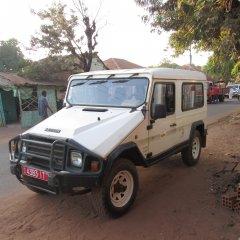 UCCLA doa viatura para Bafatá na Guiné-Bissau