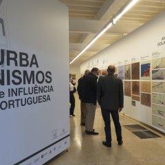 Visita de delegação da Fundação Gulbenkian à exposição da UCCLA