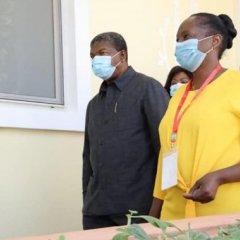 Inauguração da maior unidade de cuidados pediátricos de Angola